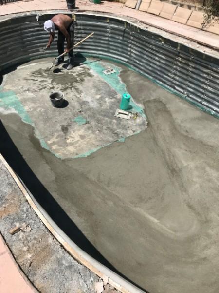 Réhabilitation d'une piscine